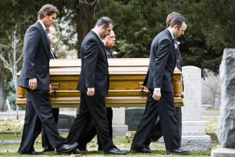 Pallbearers at a Funeral