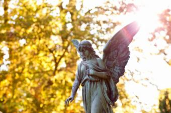 13 Pictures of Angel Statues at Cemeteries