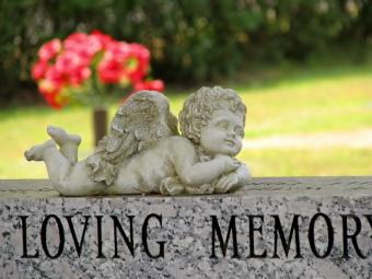 Angel Headstone Monuments
