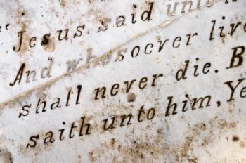 Bible Quotes About Death Of A Loved One Amazing Simple Words To Write On A Headstone  Lovetoknow