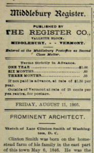 Old newspaper obituary