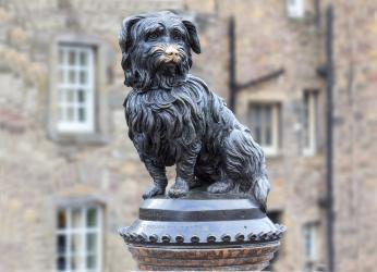 Bobby the Terrier statue.