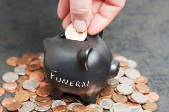 Funeral Piggy Bank