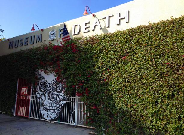 Front entrance of Museum of Death