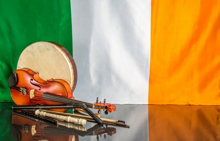 Traditional Irish musical instruments