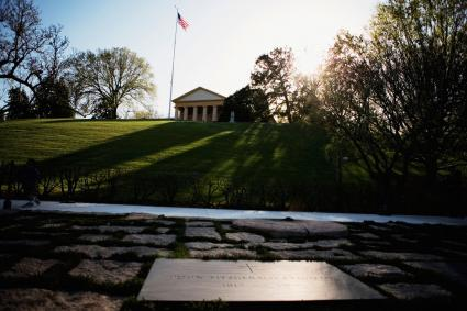 John Kennedy Grave and Arlington House