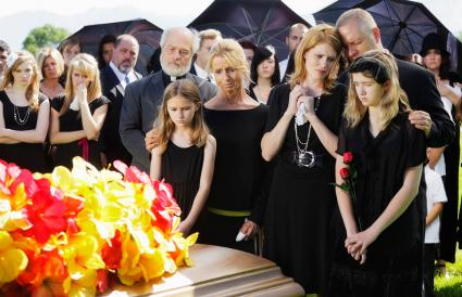 Family at a Funeral