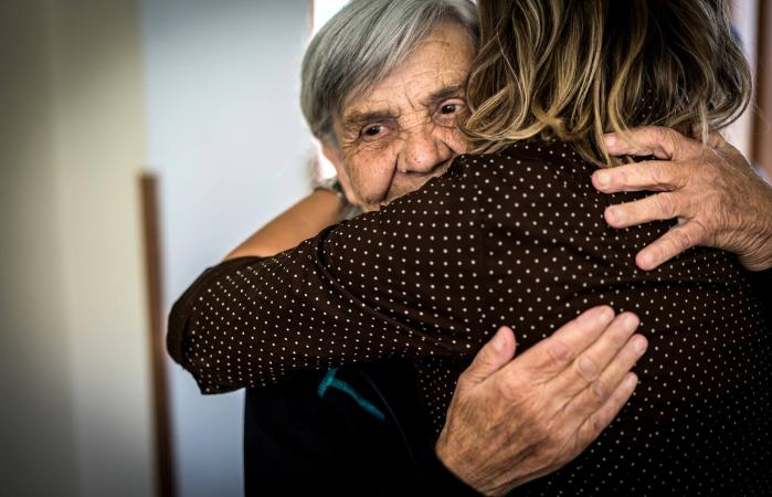 Taking care of elderly people
