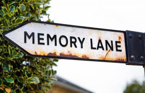 Sign post to Memory Lane