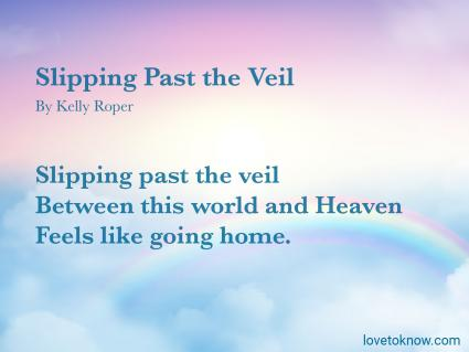 Slipping Past the Veil Poem
