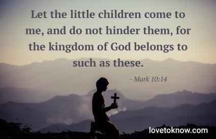 Mark 10:14