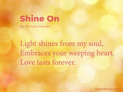 Shine On Obituary Poem