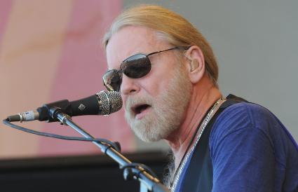 Gregg Allman of The Allman Brothers Band