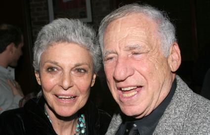 Mel Brooks and Anne Bancroft
