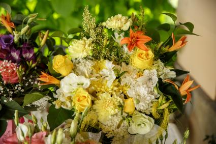 Flower arrangements for funeral