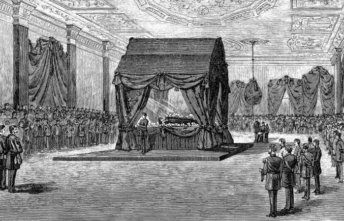 Funeral for Abraham Lincoln