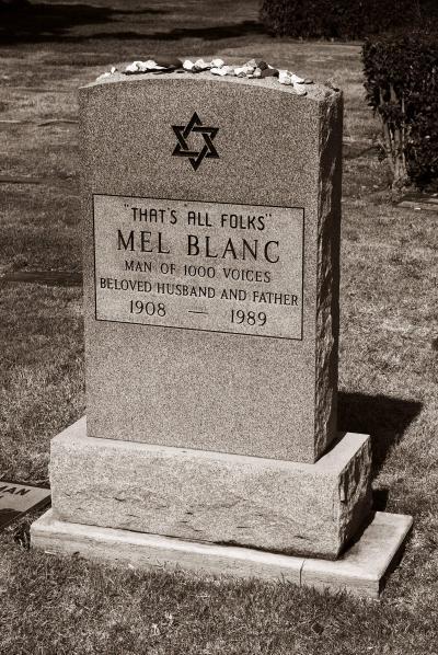 Mel Blanc headstone