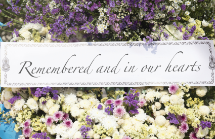 Funeral Wreath Message Example