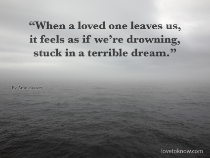 Denial Grief Quote
