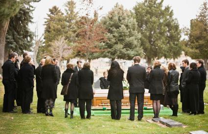 graveside funeral service