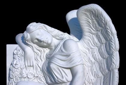 Angel Headstone Pic