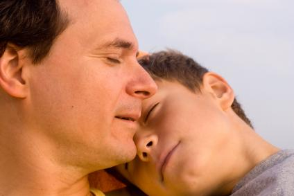 Fathers grieve deeply.
