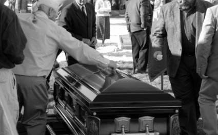 Funeral protocol etiquette