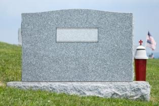 Grave marker selecting