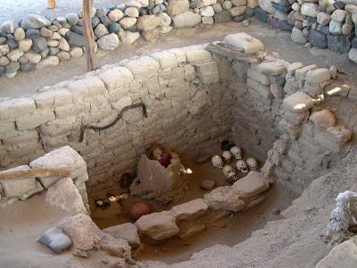 Atacama Desert Cemetery archaeological site of Chinchorro