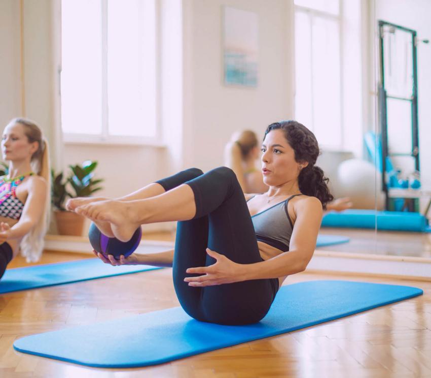 Ejemplos de ejercicios Pilates |