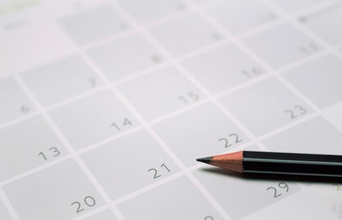 LLeva un registro de tu fertilidad con un calendario
