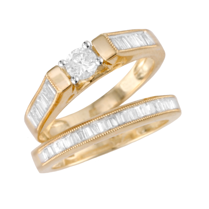 Bridal Set Engagement Ring Choices Lovetoknow