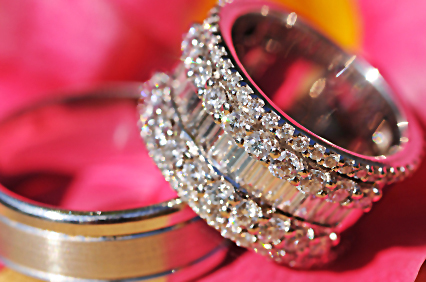 Finding Wide Band Diamond Wedding And Engagement Rings Lovetoknow