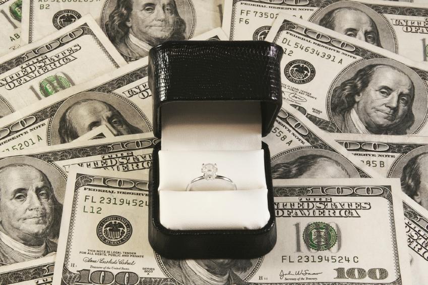 Origami diamond money ring (moneygami) - YouTube | 565x849