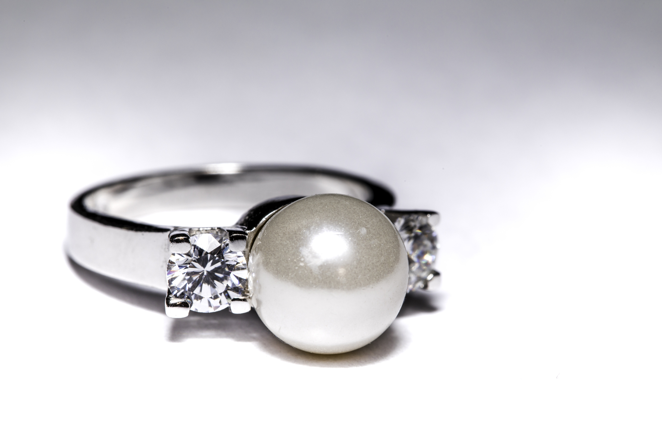 born ring pearl pretty pearls n rings loverly june o brides engagement facebook huffpost for in