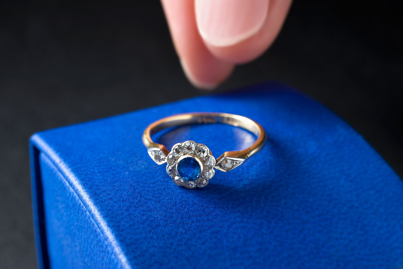 Sapphire Engagement Ring Meaning Lovetoknow