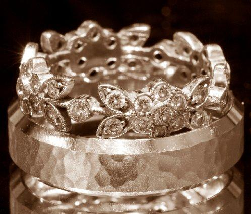 Antique Wedding Rings Source His And Hers Bands