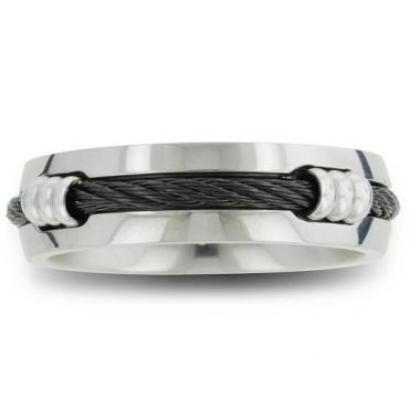 rope wedding band - Alternative Wedding Rings