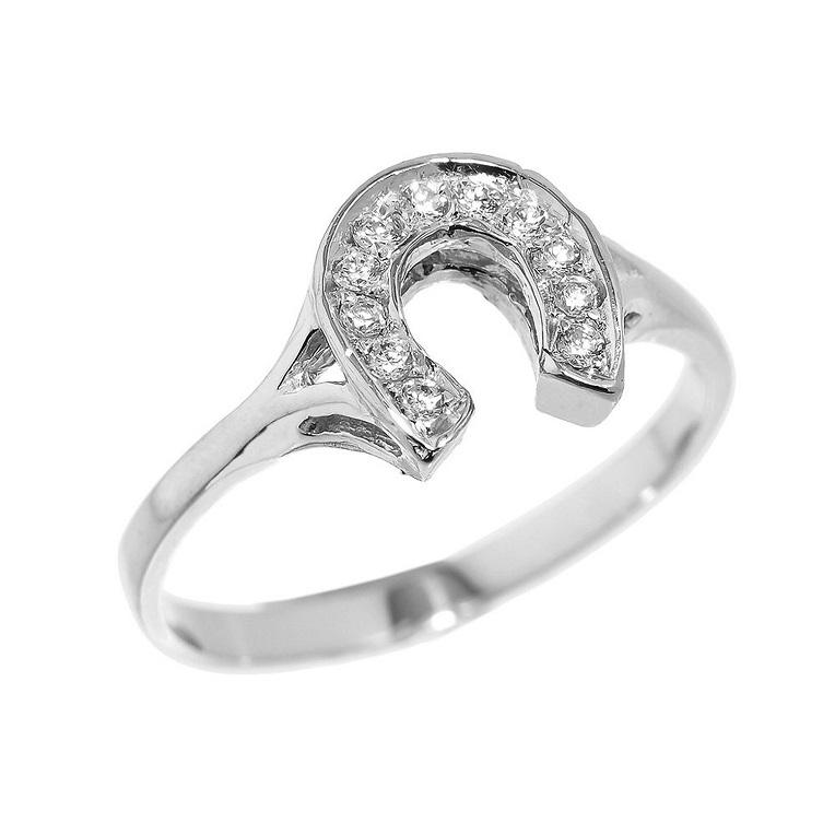 horseshoe ring - Western Wedding Rings