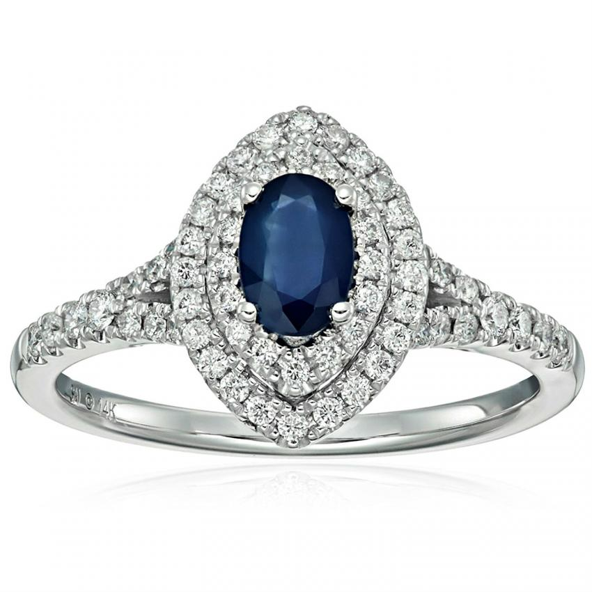 ring engagement diamond and blue kate sapphire ceylon princess beautiful middleton diana rings