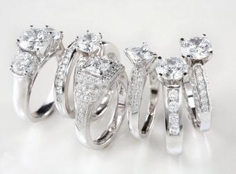 Unique Diamond Ring Setting Photos