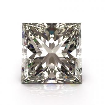 Princess cut diamond; Copyright Apttone at Dreamstime.com