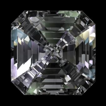 Asscher cut diamond; Copyright© Zelfit | Dreamstime.com