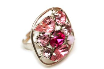 Ruby and Pink Sapphire Ring