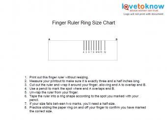 finger ruler ring chart