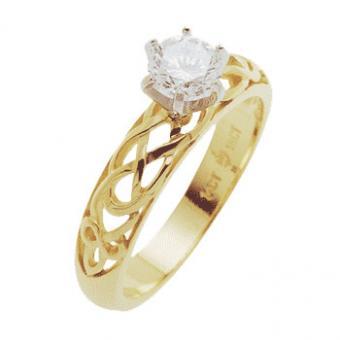 Celtic Spirit Engagement Ring