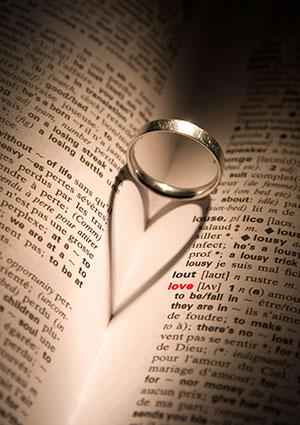 engagement ring heart
