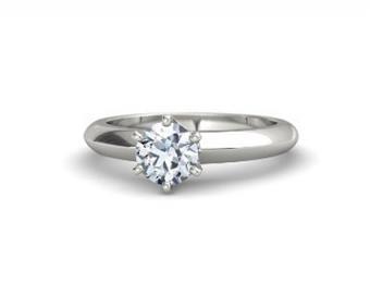 Round-Cut Lisa Ring from Gemvara