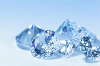 Image of four cubic zirconia gems