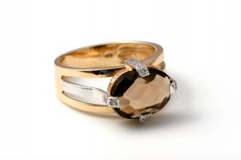 Brown Diamond Engagement Ring Pictures